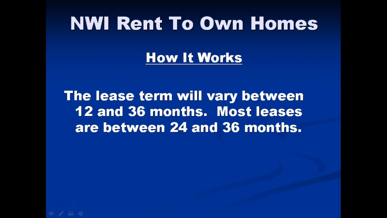 NWI RTO Homes How It Works