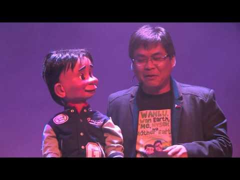 การแสดงหุ่นจากประเทศฟิลิปปินส์  TALENTADONG PINOY PAPETIR  part 2