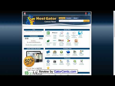 Hostgator Godaddy Namecheap Aweber - Coupon Code: GATORCENTS