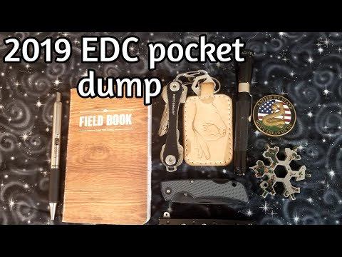 2019 EDC Pocket Dump #everydaycarry #edc #pocketdump