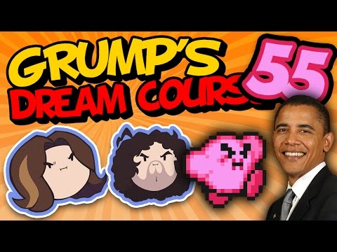 Grump's Dream Course: Obama Watches Game Grumps - PART 55 - Game Grumps VS
