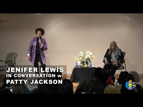 Jennifer Lewis  In Conversation with Patty Jackson 2017