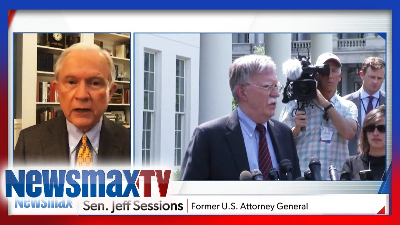Jeff Sessions sounds off on Bolton's book bombshells