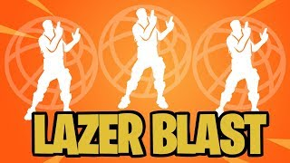 LAZER BLAST | FORTNITE EMOTE | 1 HOUR SHOWCASE WITH DIFFERENT SKINS