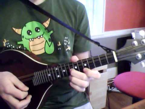 How To Play Handlebars By Flobots On Mandolin Youtube