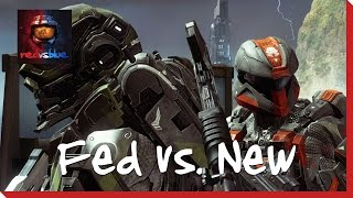 Season 12, Episode 18 - Fed vs. New | Red vs. Blue