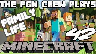 The FGN Crew Plays: Minecraft #42 - Animal Fire (PC)