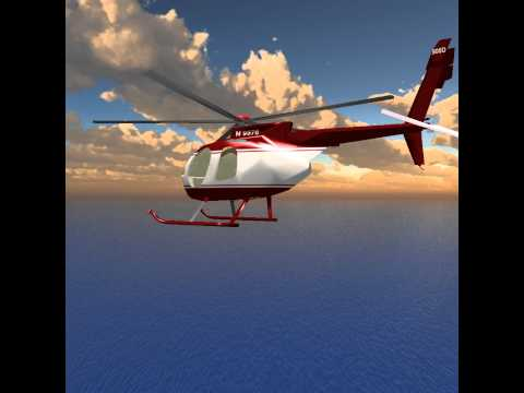 PyOpenGL Helicopter Game Alpha Demo