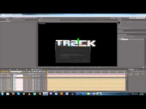 Tutorial – Motion Tracked 3D Text In After Effects WITHOUT Boujou