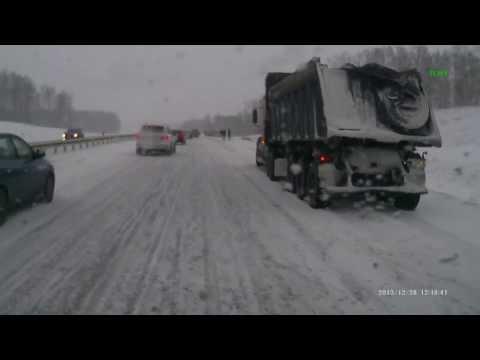 Авария на трассе Кемерово Ленинск
