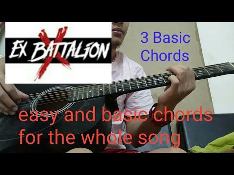 IKAW KASE - EX BATTALION (EASY CHORDS)