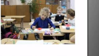Урок рисования в 1е классе