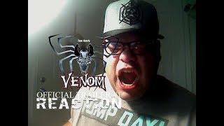 Venom Official Trailer #1 Reaction