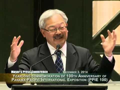 Mayor Lee Launches Panama-Pacific International Exposition (PPIE 100) Celebration