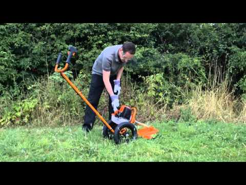 Sherpa Wheeled Petrol Grass Trimmer