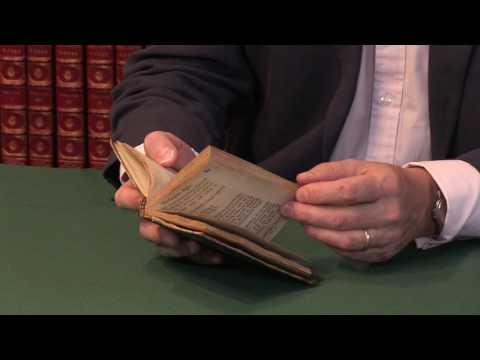 Izaak Walton, The Compleat Angler, first edition, 1653. Peter Harrington Rare Books.