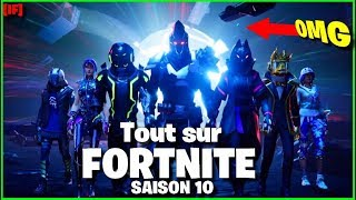 [WENN] ALL ON THE SAISON 10 OF FORTNITE BATTLE ROYALE, FREE COMBAT PASSE, NEW SYSTEM DE CHALLENGEs