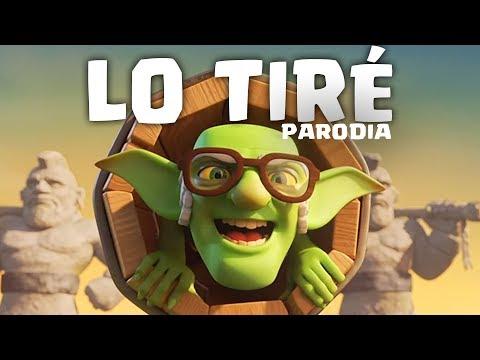 LO TIRÉ (PARODIA DE CLASH ROYALE) | Me enamoré - Shakira | GiovaGames