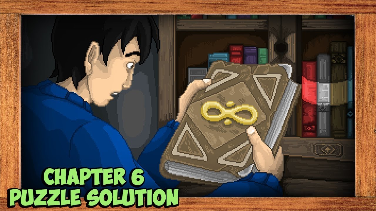 STAY Chapter 6 Bookcase Puzzle Solution