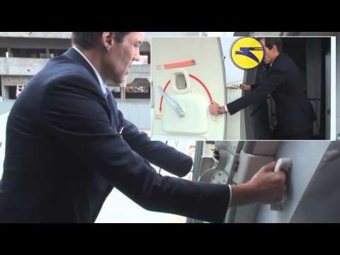Boeing 737 door operation