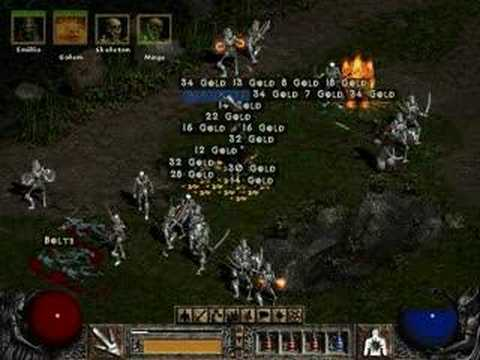 Secret Cow Level on Diablo 2 Lord of Destruction - YouTube
