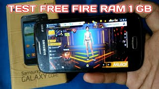 Free Fire Game on Samsung Galaxy Core