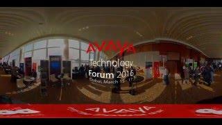 Walk-through at the Avaya Technology Forum 2016 - Dubai, March 15 - 17