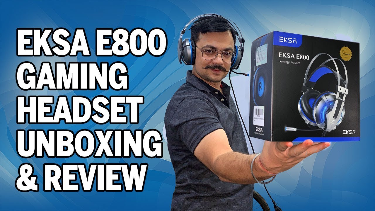 Download EKSA E800 Gaming Headset - Unboxing and Review (PS4, PC, XBOX, MAC)