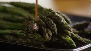 How To Make Baked Asparagus With Balsamic Butter Sauce