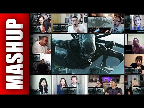 ALIEN: COVENANT Trailer 2 Reactions Mashup