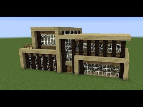 كيف تصنع بيت في ماين كرافت من الخشب