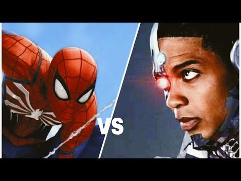 Человек паук против Киборга