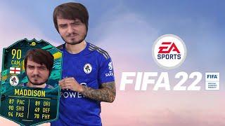 Мэддисон играет в Fifa 22 на PS5 и открывает пакцы