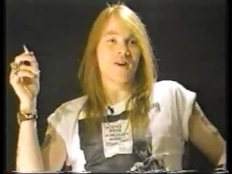 Axl Rose – MTV Interview