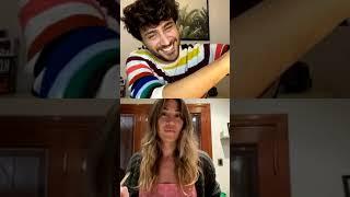 LIZARDO PONCE y JIMENA BARON con Daniel Osvaldo!!! Instagram live (28/05/2020)