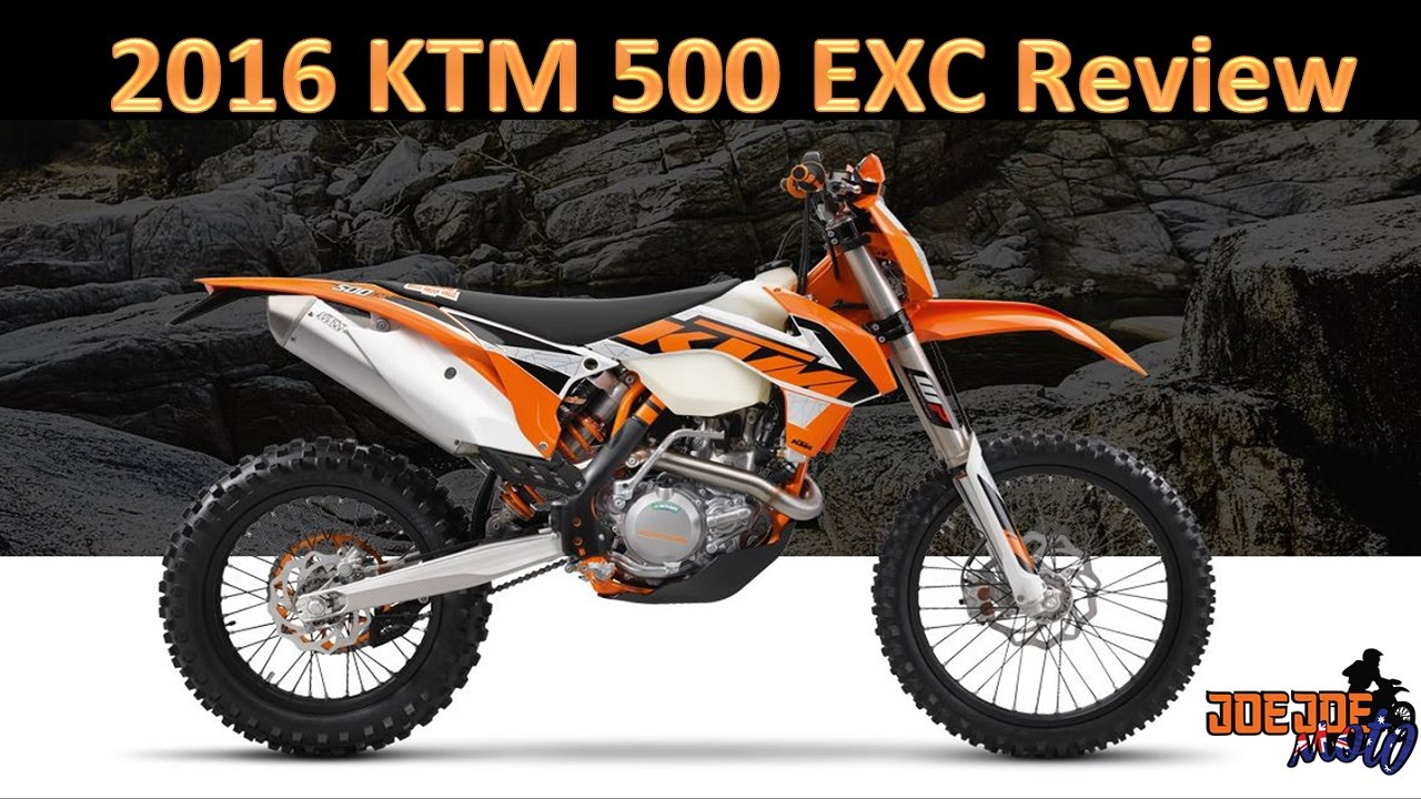 2016 ktm 500 exc review - youtube