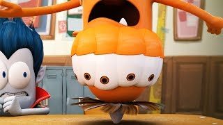 Funny Animated Cartoon | Spookiz | Kebi's Transformation | 스푸키즈 | Cartoon For Children