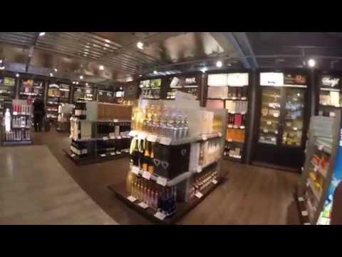 Nürnberg Flughafen - Duty Free Shop [4K]