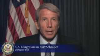 Message from U.S. Congressman Kurt Schrader for Ahmadiyya Muslim Community
