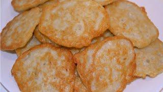 Картофельные оладьи!!! Очень вкусные, пышные на дрожжах!!!