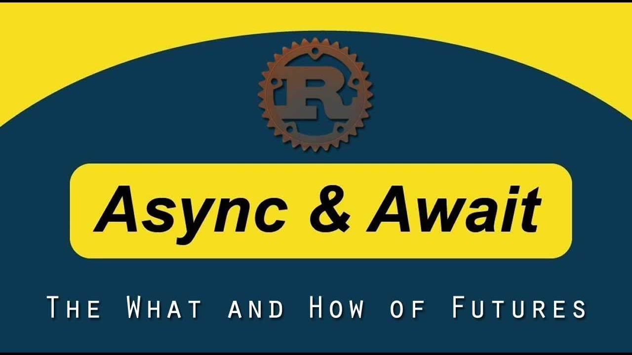 The What and How of Futures and async/await in Rust