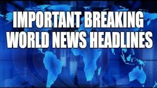 BREAKING Special Report World News July 5 2017