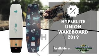 Hyperlite Union Wakeboard 2019 - Available at Water Ski World