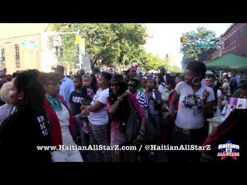 Got the people Dancing @ ATLANTIC ANTIC Brooklyn Street Festival (Haitian All-StarZ TV)