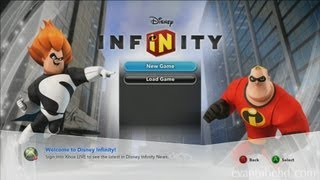 Let's Play Disney Infinity INCREDIBLES Play Set (Part 1)