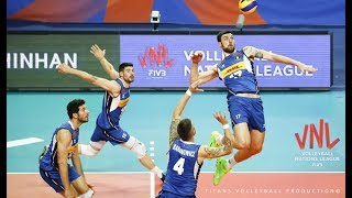 Simone Anzani | Volleyball Highlights | VNL 2018