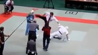 Kararte referee gets in the act