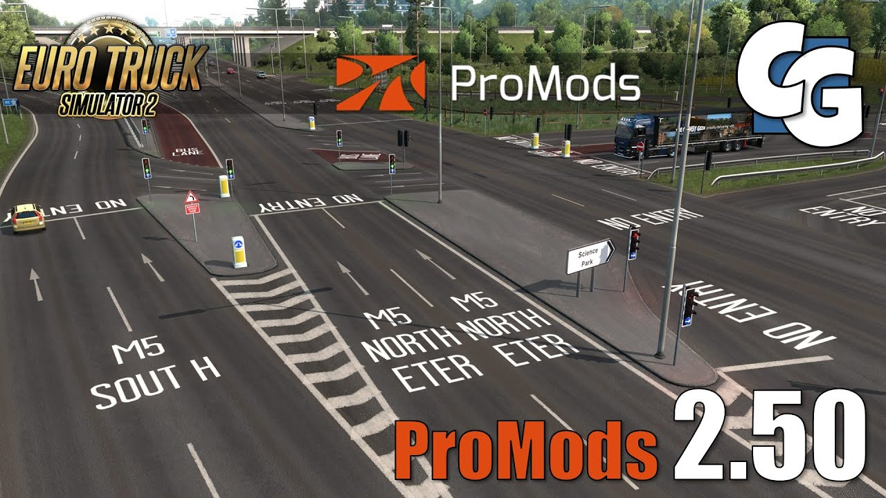 ProMods 2.50 Preview - UK - Exeter & Plymouth - ETS2