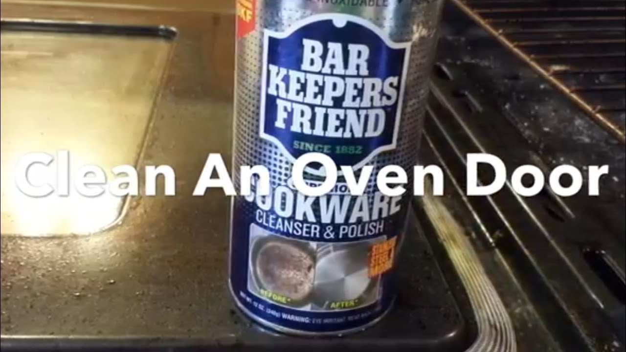 How To Clean An Oven Door Oven Door Glass Remove Burned