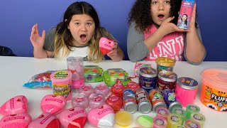 Mixing All My Store Bought Slimes - Slime Smoothie - Satisfying Slime Videos